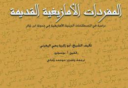 المصطلحات الدينية الأمازيغية في مدونة
