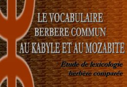 vocabulaire commun Kabyle et Mozabite